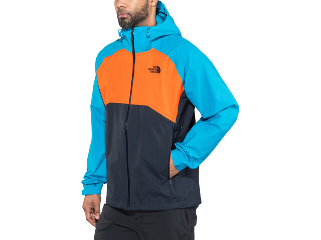 419e76afe The North Face Stratos Jacket Herr urban navy/persnorg/hyper blue